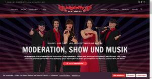 Band Highfly Webseite